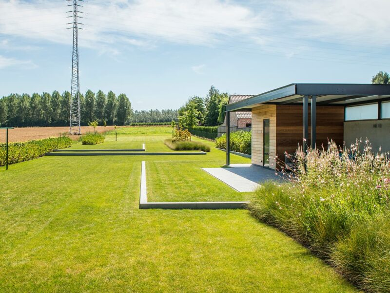 Tuinproject achtertuin