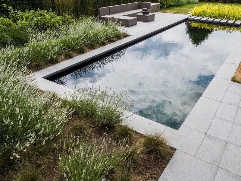 Foto's zwembad tuin
