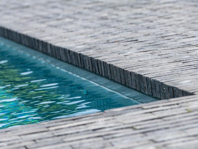 Detail zwembad Aarschot