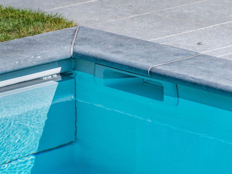 Detail zwembad Geel